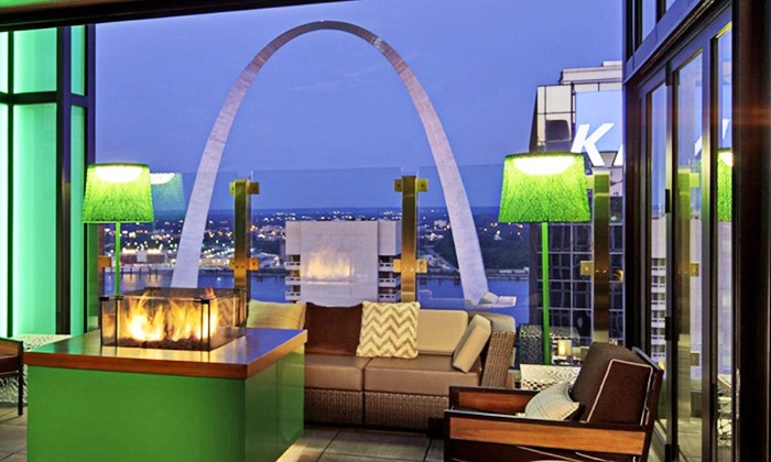 360 St. Louis - Hilton at the Ballpark: $35 for Cocktails and Upscale Bar Food for Two at 360 St. Louis (Up to $82 Value)