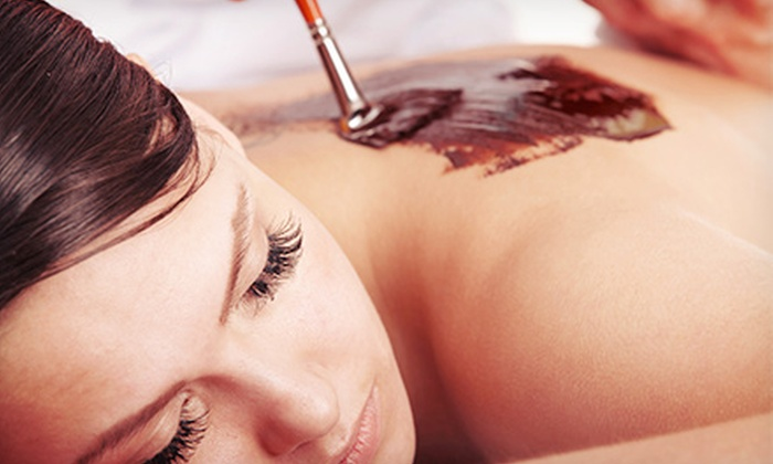 Elite Laser and Skin Spa - Algonquin: 1 or 3 Cherry, Chocolate, or Grapefruit Scrubs and Wraps with Face Mask at Elite Laser and Skin Spa (Up to 57% Off)