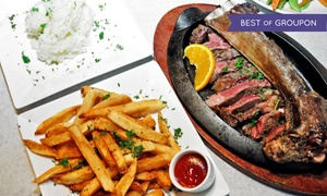 Talia's Steakhouse: Three-Course Dinner for Two or Four at Talia's Steakhouse (Up to 60% Off)
