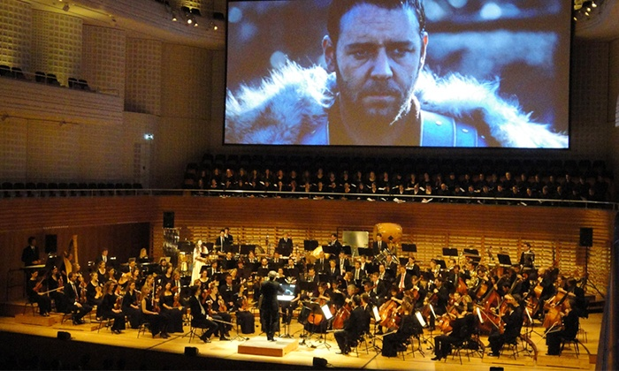 """Gladiator Live featuring the Motion Picture Symphony Orchestra - Sony Centre For The Performing Arts: """"Gladiator"""" Live Featuring the Motion Picture Symphony Orchestra on Friday, December 5 (41% Off)"""