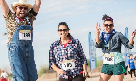 Registration for One or Four to the Corner Store Country Run 5K on October 11 (50% Value)