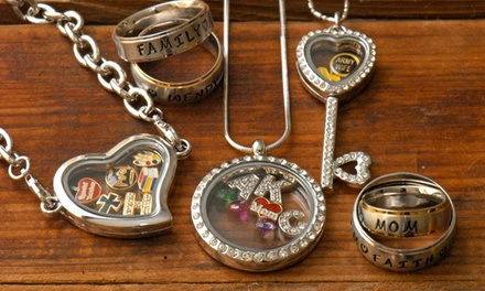 Portland: Personalized Jewelry from Stamp the Moment (Up to 61% Off). Two Options Available.