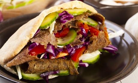 Kebab o hamburguesa para dos o cuatro personas con patatas fritas y bebida desde 7,95 € para llevar en El Realejo