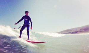 Blue Surf: Bautismo de surf para dos o cuatro personas desde 19,90 € en Arteixo