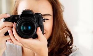 Hautepics: 60-Minute Boudoir Photo Shoot with Digital Images from HautePics (75% Off)