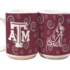 2-Pack of NCAA White Swirl Mugs