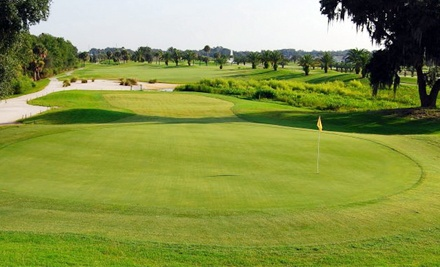 18-Hole Round of Golf for Two or Four Including Cart, Lunch, and Range Buckets at Ridgewood Lakes Golf Club (51% Off)