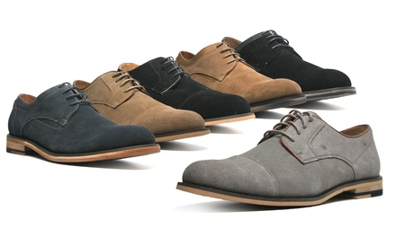 XRay Men's Genuine Suede Savvy Oxfords