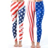 Women's Plus Size Flag-Print Leggings
