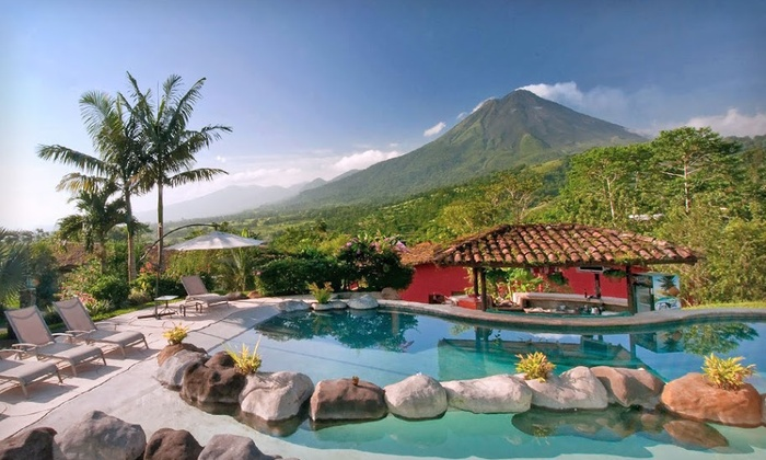 Mountain Paradise Hotel - La Fortuna, Costa Rica: Three-, Four-, or Five Night Stay with Spa and Food Credit at Mountain Paradise Hotel in La Fortuna, Costa Rica