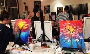 Blackbird Gallery and Art Studio: BYOB Painting Night for One or Two at Blackbird Gallery and Art Studio (Up to 55% Off)