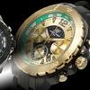 Aubert Freres Chronograph Lagasse Men's Bracelet Watches