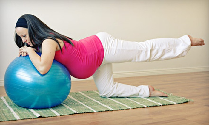 Leap - Multiple Locations: Three or Five Prenatal Exercise Classes at Leap (Up to 54% Off)