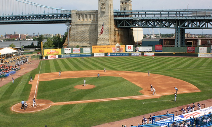 Camden Riversharks - Campbell's Field: Camden Riversharks Game for Two or Four with Food and Merchandise Credit at Campbell's Field (Up to 45% Off)