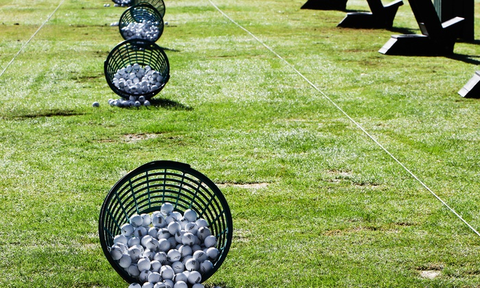 Broken Arrow Family Golf Center - Broken Arrow: Two or Four Range-Ball Buckets, or Lesson and Three Buckets at Broken Arrow Family Golf Center (Up to 52% Off)