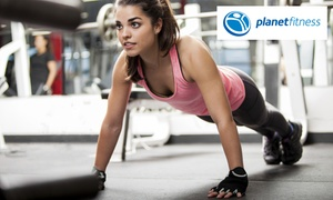 Planet Fitness: Two-Month Planet Fitness Membership for R399 at Walmer Planet Fitness Club (60% Off)