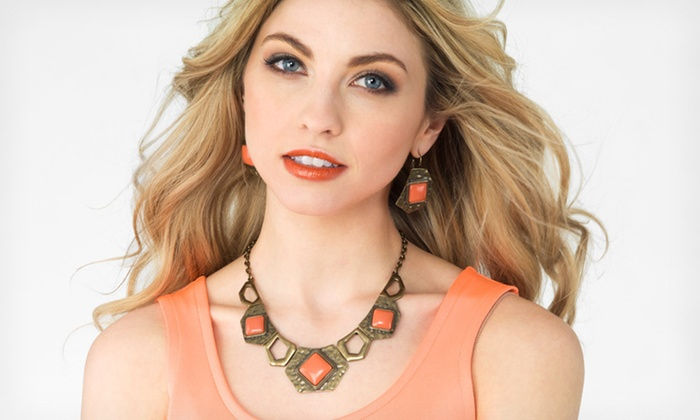 Statement Necklace and Earrings Sets: $15.99 for Necklace and Earring Set ($29.99 List Price). 32 Options Available. Free Shipping & Returns.