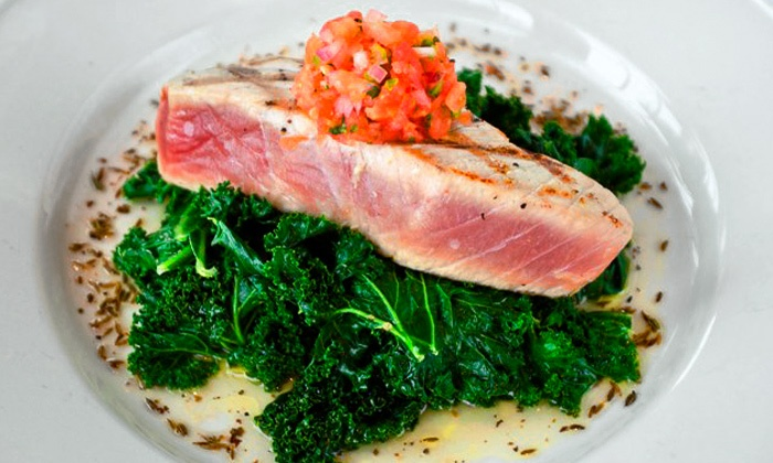 Go Fish - Mystic: $25 for $50 Worth of Upscale Seafood for Dinner for Parties of Two or More at Go Fish