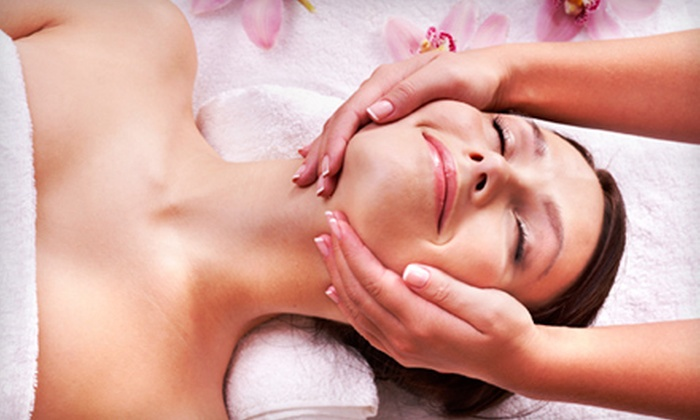 Beyond Visual Spa - Rocky Hill: $95 for a Spa Package with a Custom Facial, 30-Minute Massage, and French Mani-Pedi at Beyond Visual Spa ($215 Value)