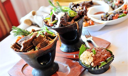 Ethiopian Cuisine for Dine-In or Take-Out at Lucy Ethiopian Restaurant and Lounge (Up to 45% Off)