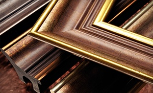 Art Frame Solutions: $50 for $100 Worth of Framing at Art Frame Solutions
