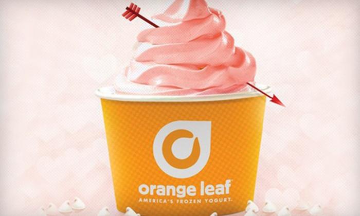 Orange Leaf - Lee's Summit: 6 or 10 Vouchers, Each Good for $2 Off Your Bill at Orange Leaf