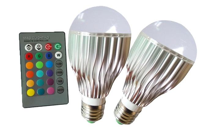 Lampen Op Afstandsbediening : Led lampen met afstandsbediening groupon