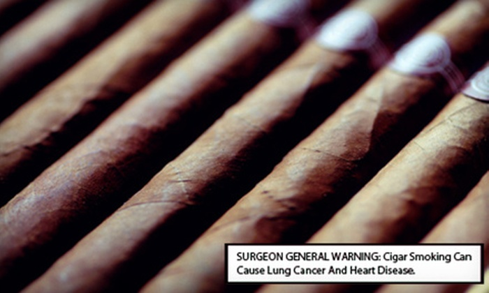 Tobacco Man - Multiple Locations: Cigars and Accessories at Tobacco Man (Half Off). Two Options Available.