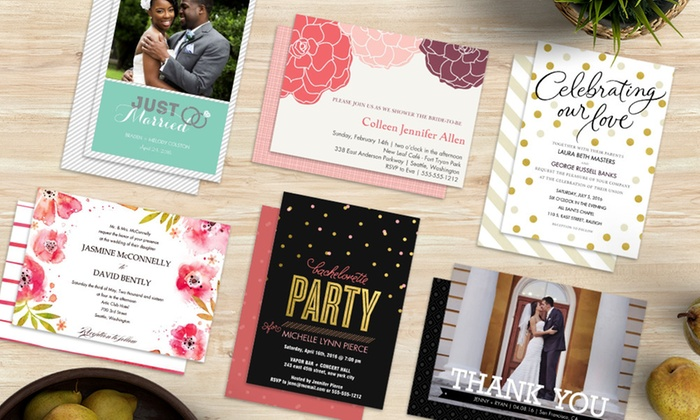 Custom Invitations From Staples Staples Groupon
