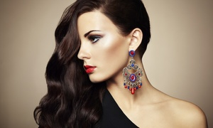 Great Salon: Haircut with Optional Color or Partial Highlights at Great Salon (Up to 69% Off)