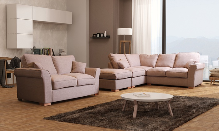 ... Groupon Goods Global GmbH: Hugo Formal Back Sofa Collection ...
