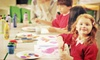 Paint and Pour - Paint and Pour Brighton: One or Nine Weeks of Creativity Camp at Paint and Pour (Up to 51% Off). Four Options Available.