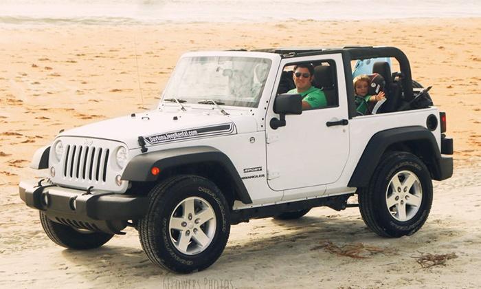 Daytona Jeep Rental - Ormond Beach: One-Day, Weekend, or One-Week Jeep Wrangler Rental from Daytona Jeep Rental (Up to 42% Off)