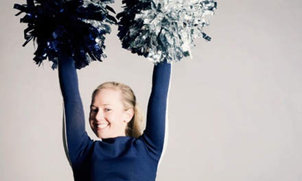 6 or 12 Cheerleading, Tumbling, Jumping, or Stunting Classes at Cheer Force One (Up to 57% Off)