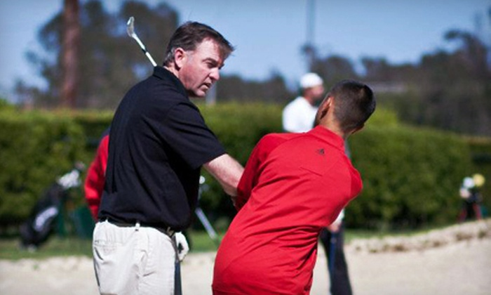 Mark Emmons Golf Academy - San Bruno: One or Two 60-Minute Golf Lessons at Mark Emmons Golf Academy (Up to 65% Off)
