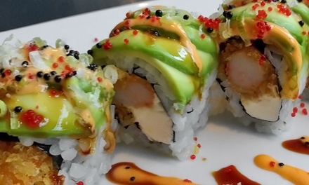 $12 for $20 Worth of Sushi and Asian Fare for Two or More at Aodake Asian Bistro