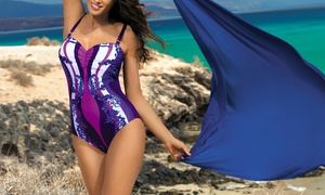Maillot 1 pièce gainant