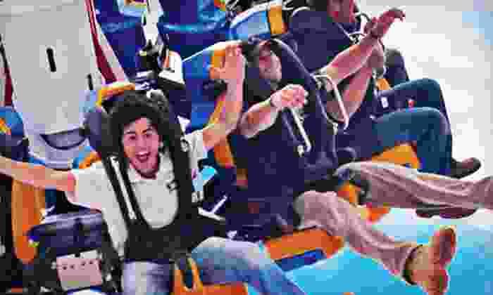Steel Pier - Steel Pier Amusements: $29 for an 80-Ticket Book for Amusement Park Rides at Steel Pier in Atlantic City ($60 Value)