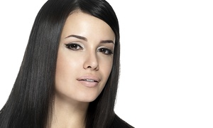 Salon90 - Nellie  Rivas: Women's Haircut with Optional Clear Gloss or Split-End Mender Treatment at Salon90 - Nellie Rivas (Up to 57% Off)