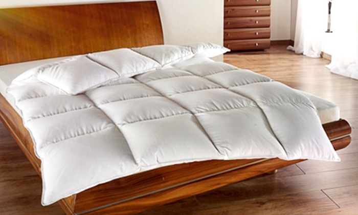daunen decke alaska premium groupon goods. Black Bedroom Furniture Sets. Home Design Ideas