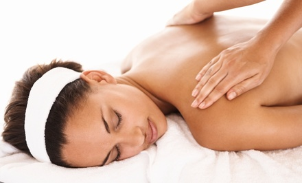 One or Three 60-Minute Massages at Health in Hands Spa (Up to 63% Off)