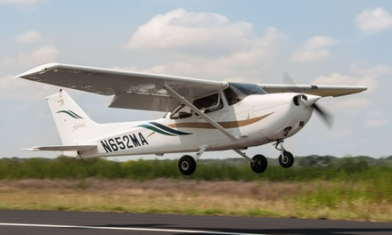 Discovery Flight for Two or Introductory Lesson for One at Above & Beyond Aviation (Up to 50% Off)