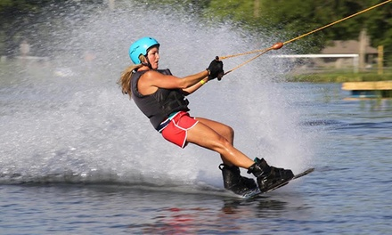 Two-Hour Wakeboarding & Water-Skiing Pass for One, Two, or Four at Wake Nation Cincinnati. Includes All Rental Gear (Up to 53% Off)