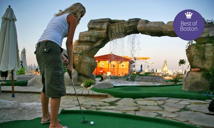 Round of Mini Golf with Small Ice Creams for Two or Four at Paradise Mini Golf (Up to 44% Off)
