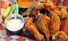 Teddy's Wing Shack - Palm Springs: Burgers and Wings at Teddy's Wing Shack (45% Off). Two Options Available.