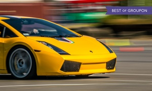 The Motorsport Lab: Ferrari or Lamborghini Autocross Experience from The Motorsport Lab (Up to 84% Off). Four Options Available.