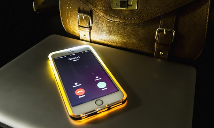 MOTA LED Flashing Protective Case for iPhone 6 or 6 Plus  7af9c95e74