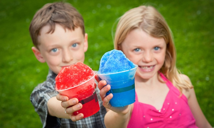 Maglione's Italian Ice and Catering - Iselin:  $99 for 25 Italian Ices, 25 Jumbo Pretzels, & 25 Cotton Candies at Maglione's Italian Ice ($225 Value)