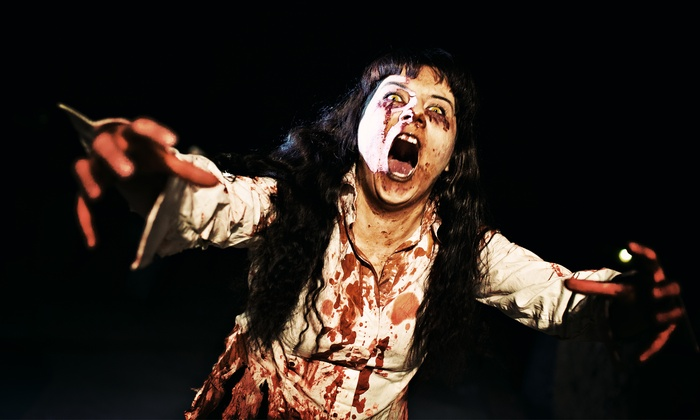 Asylum Haunted Scream Park - Louisville: Zombie Hunting or Haunted Attraction Pass at Asylum Haunted Scream Park (Up to 38% Off). Six Options Available.