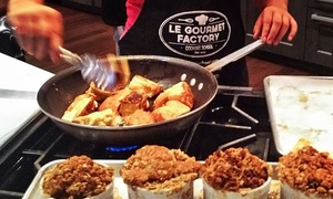 Le Gourmet Factory: Kids' or Teens' Cooking Camps at Le Gourmet Factory (Up to 74% Off). Four Options Available.